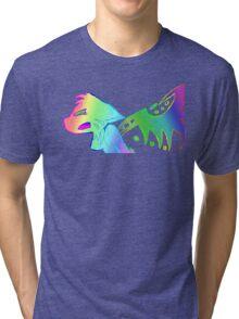 Angry Radioactive Rainbows 2 Tri-blend T-Shirt