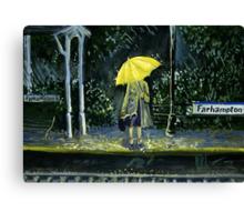 Yellow umbrella part 2 Canvas Print