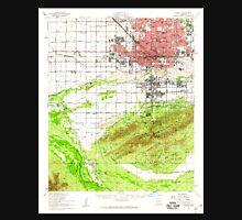 USGS TOPO Map Arizona AZ Phoenix 314898 1952 62500 Unisex T-Shirt