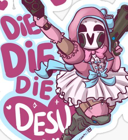 Lolita Reaper - Die Die Die Desu! Sticker