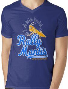 rally go mantis Mens V-Neck T-Shirt