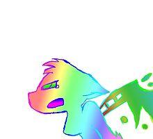 Angry Radioactive Rainbows by Mars714