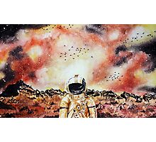 Brand New Watercolour Space Design Photographic Print