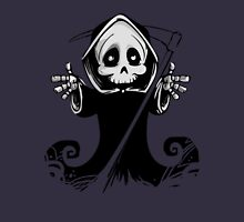 Death Greetings. Women's Fitted Scoop T-Shirt