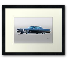 1967 Cadillac Custom Coupe DeVille I Framed Print