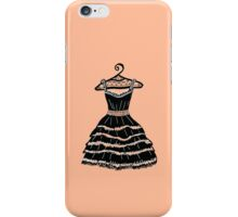 Black dress iPhone Case/Skin
