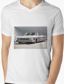 1966 Cadillac Custom Eldorado Convertible  Mens V-Neck T-Shirt