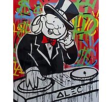 DJ Rich Uncle Pennybags Photographic Print