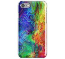 Psychedelic Line 1 iPhone Case/Skin