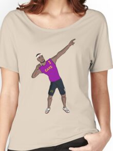 Lebron like Usain bolt Women's Relaxed Fit T-Shirt