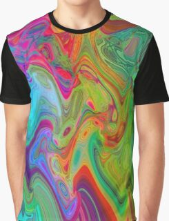 Psychedelic Line 2 Graphic T-Shirt