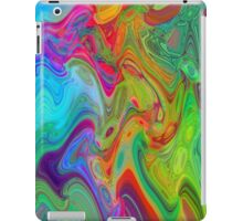 Psychedelic Line 2 iPad Case/Skin