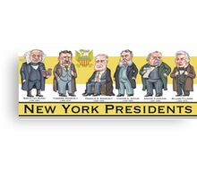 U.S. Presidents from New York State Canvas Print