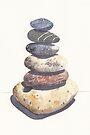Beach Stones by Val Spayne