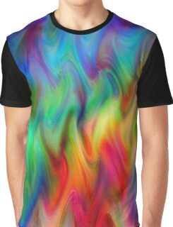 Psychedelic Line 4 Graphic T-Shirt