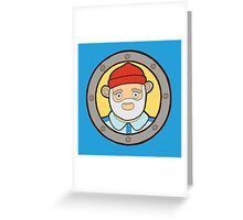 The Life Aquatic with Steve Zissou Greeting Card