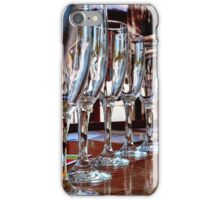 glassware reflections iPhone Case/Skin