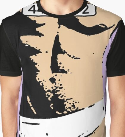 Hey! The face is up here. Graphic T-Shirt
