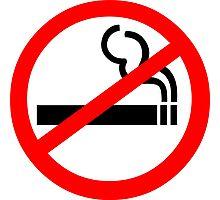 No Smoking Symbol Photographic Print