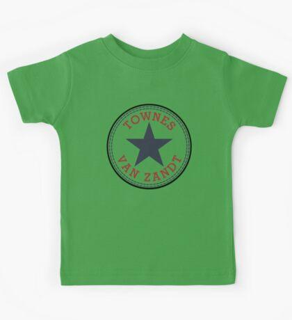 Townes Van Zandt Lone Star State Kids Tee