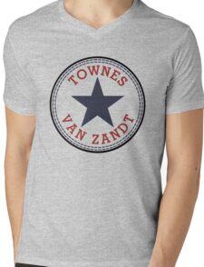 Townes Van Zandt Lone Star State Mens V-Neck T-Shirt