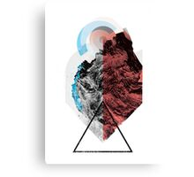 Fragmented .932 Canvas Print