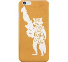 What's a Raccoon? iPhone Case/Skin