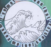 Seasick Sticker