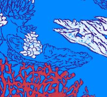 Coral reef Sticker