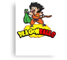 Dragon Balls - Dragon Ball Z DBZ parody pun Canvas Print