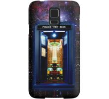 Space And Time traveller Box that More Bigger on the inside Samsung Galaxy Case/Skin