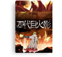 Attack on Konoha Canvas Print