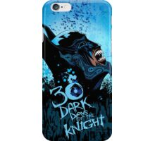Batman - 30 Dark Days of the Knight iPhone Case/Skin