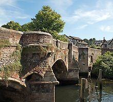 Bishop Bridge - Norwich, Norfolk by Chris Monks