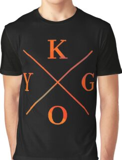 KYGO - Orange Graphic T-Shirt