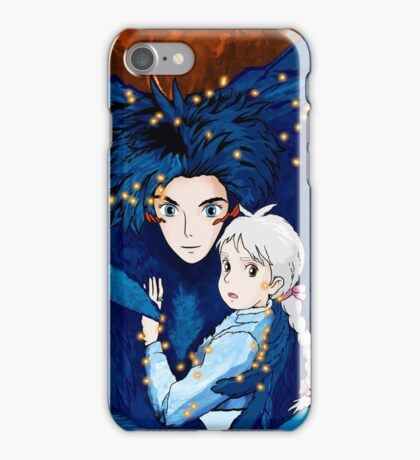 Howl's Moving Castle - Howl & Sophie iPhone Case/Skin