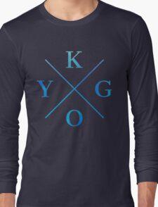 KYGO - Blue Long Sleeve T-Shirt