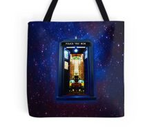 Space And Time traveller Box that More Bigger on the inside Tote Bag