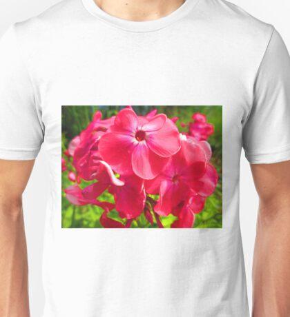 Vivid Pink Phlox Unisex T-Shirt