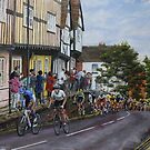 Ride up High Street, Warwick by Andy Farr