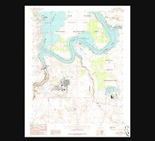 USGS TOPO Map Arizona AZ Page 312741 1985 24000 Unisex T-Shirt