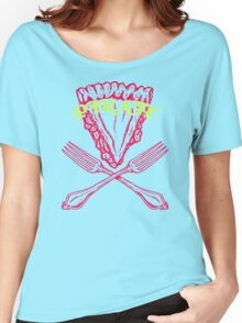 Fork And Pizza Women's Relaxed Fit T-Shirt