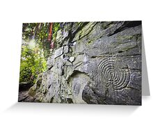 Cornwall : Rocky Valley Labyrinths Greeting Card