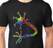Rainbow Neuron Unisex T-Shirt