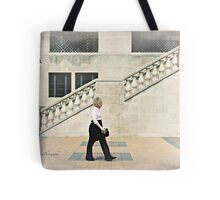 Walking, Château Laurier, Ottawa Tote Bag