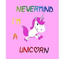 unicorn 2 Photographic Print