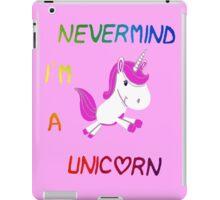 unicorn 2 iPad Case/Skin