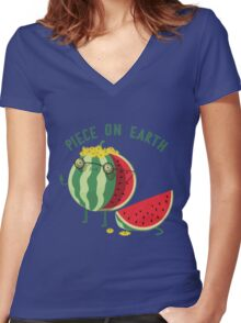 The activist Women's Fitted V-Neck T-Shirt