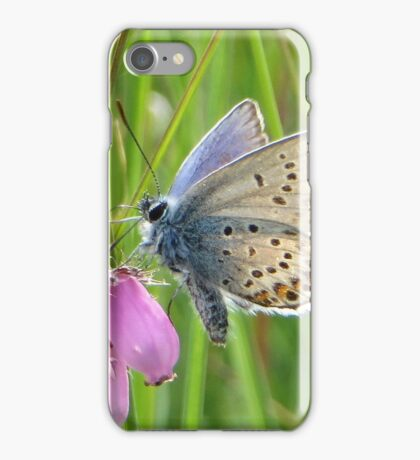 Heather and Blue iPhone Case/Skin