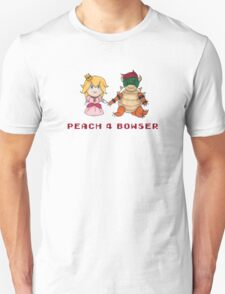 Peach 4 Bowser Unisex T-Shirt